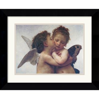 William Adolphe Bouguereau 'L'Amour et Psyché, Enfants' Framed Art Print