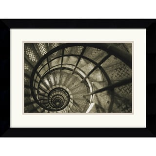 Christian Peacock 'Spiral Staircase in Arc de Triomphe' Framed Art Print