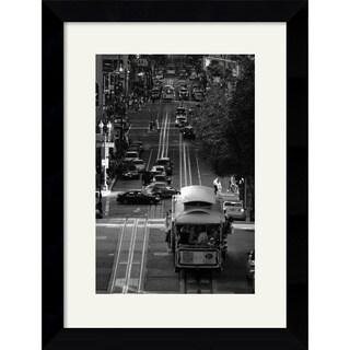 Sabri Irmak 'Streets of San Francisco' Framed Art Print