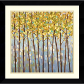 Libby Smart 'Glistening Tree Tops' Framed Art Print