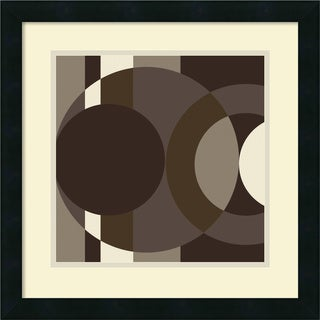 Framed Art Print 'Como' by Denise Duplock 18 x 18-inch