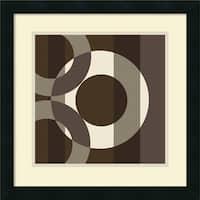 Framed Art Print 'Cibonne' by Denise Duplock 18 x 18-inch