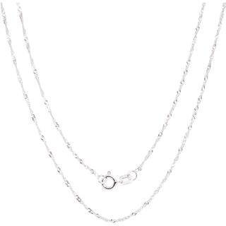 White gold chains necklaces for less overstock fremada 14k white gold singapore chain necklace 16 30 inch 4 options aloadofball Gallery