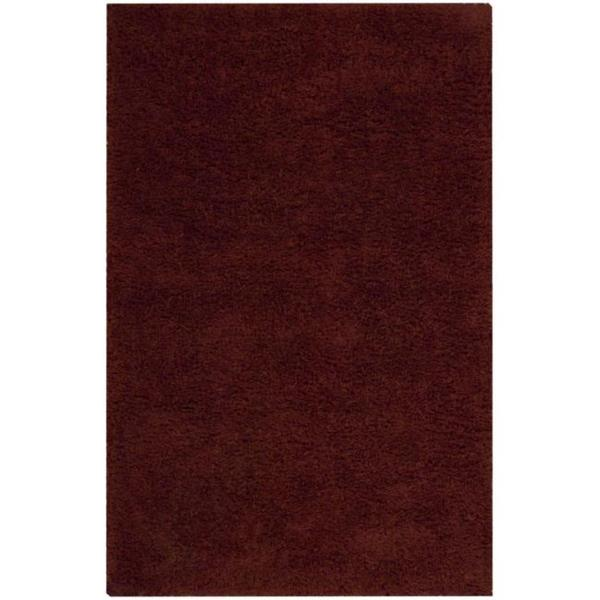 Nourison Coral Reef Rust Shag Area Rug - 3'6 x 5'6