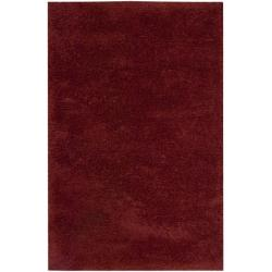 Nourison Coral Reef Red Shag Area Rug (5' x 8')