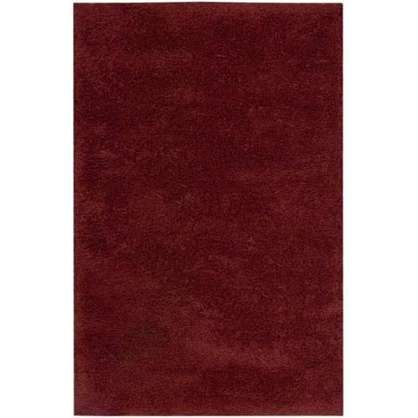 Nourison Coral Reef Red Shag Area Rug - 5' x 8'