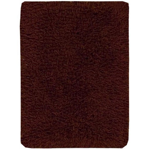 Nourison Coral Reef Rust Shag Area Rug (2'6 x 4')