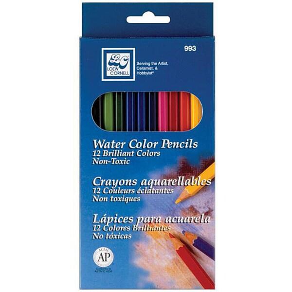 Watercolor Pencils (Pack of 12)