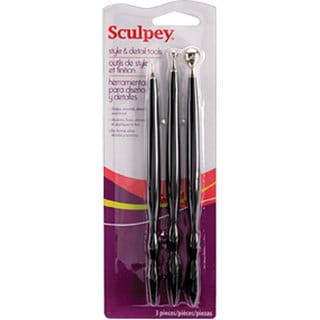 Sculpey 3-piece Style and Detail Tools Set