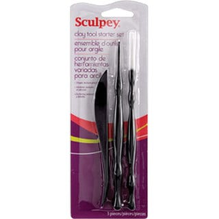 Polyform Sculpey 3-piece Clay Tool Starter Set