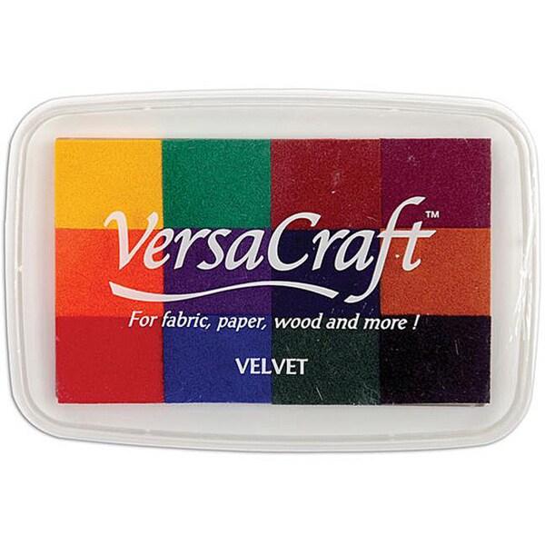 Tsukineko Splendor Velvet 12-color Ink Pad