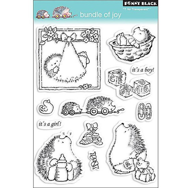 Penny 'Bundle Of Joy' Clear Stamps