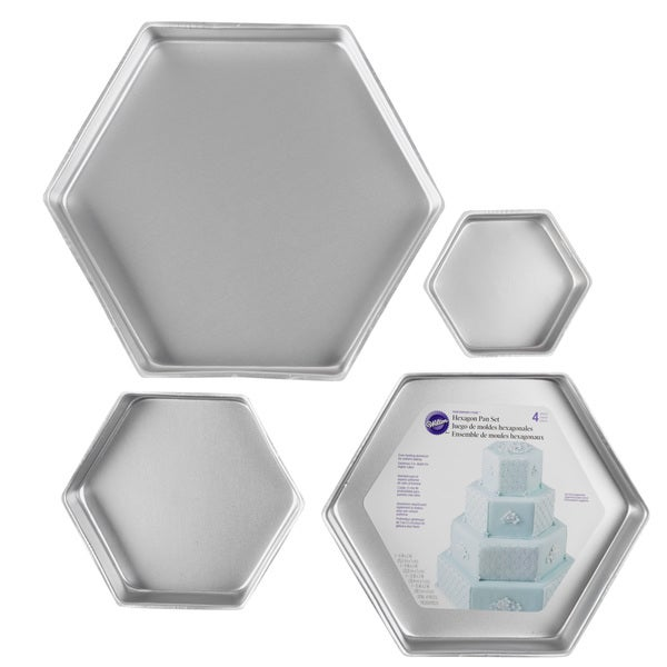 Shop Performance Hexagon Cake Pans Free Shipping Today