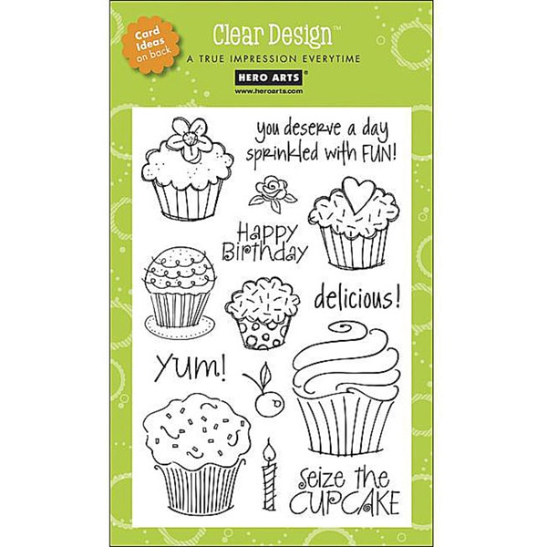 Hero Arts 'Cupcakes' Clear Stamps