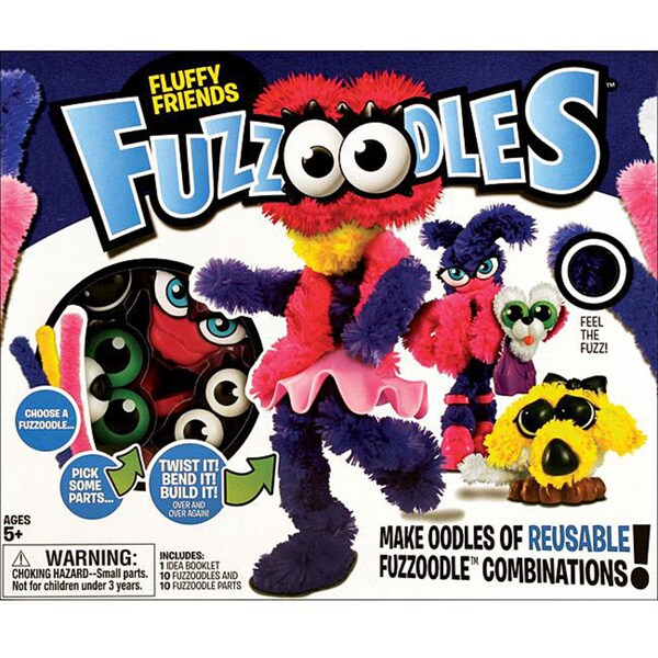 Fuzzoodles Large-Fluffy Friends Activity Kit
