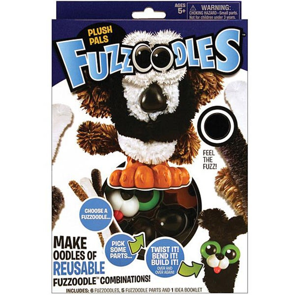 Fuzzoodles Small Plush Pals Activity Kit