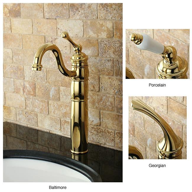Heritage Polished Brass Vessel Faucet