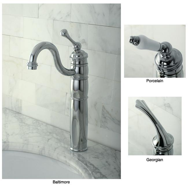 Heritage Bathroom Chrome Vessel Faucet