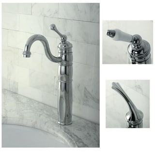 Heritage Bathroom Chrome Vessel Faucet
