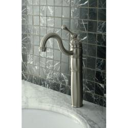Heritage Satin Nickel Vessel Faucet - Thumbnail 1