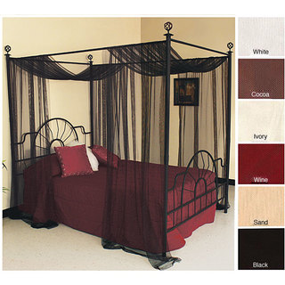 Single Sheer Netting Panel & Bed Canopies For Less | Overstock.com