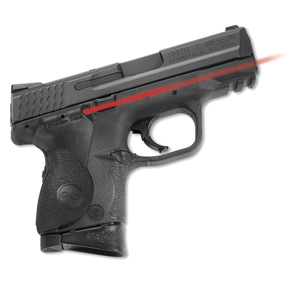 Crimson Trace Smith & Wesson M&P Polymer Rear Activation Laser Grip