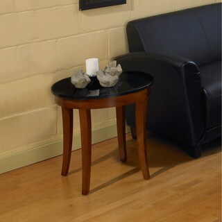 Mayline Midnight Series End Table