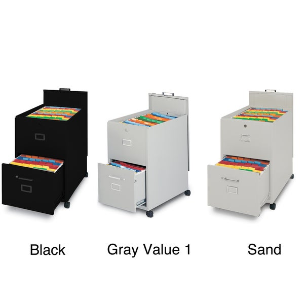 Shop Mayline Mobilizers File Cabinet With Lock And Key