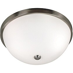Venue 3-light Steel Flush Mount