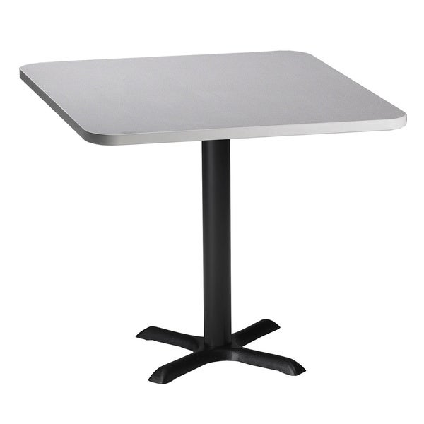 Mayline Bistro Breakroom Dining Height Square Table   Free Shipping Today    Overstock.com   13360669