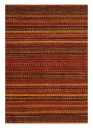 Sindhi Brown Handwoven Jute Area Rug (4' x 6')