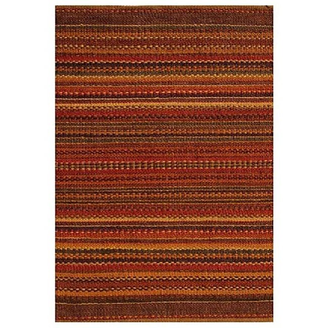 Sindhi Brown Handwoven Jute Area Rug 4 X 6 Free