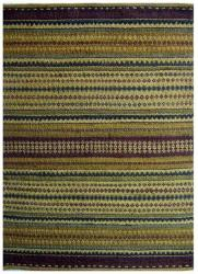 Handwoven Mohawk Green Striped Jute Rug (6' x 9') - Thumbnail 2