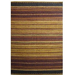 Hand-woven Mohawk Brown Jute Rug (6' x 9') - Thumbnail 0