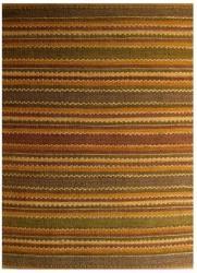 Handwoven Mohawk Brown Jute Area Rug (6' x 9')