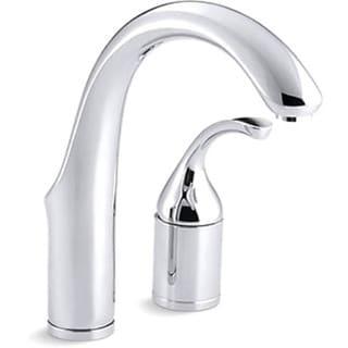 Kohler K-10443-CP Polished Chrome Forte Entertainment Kitchen Sink Faucet, Less Sidespray