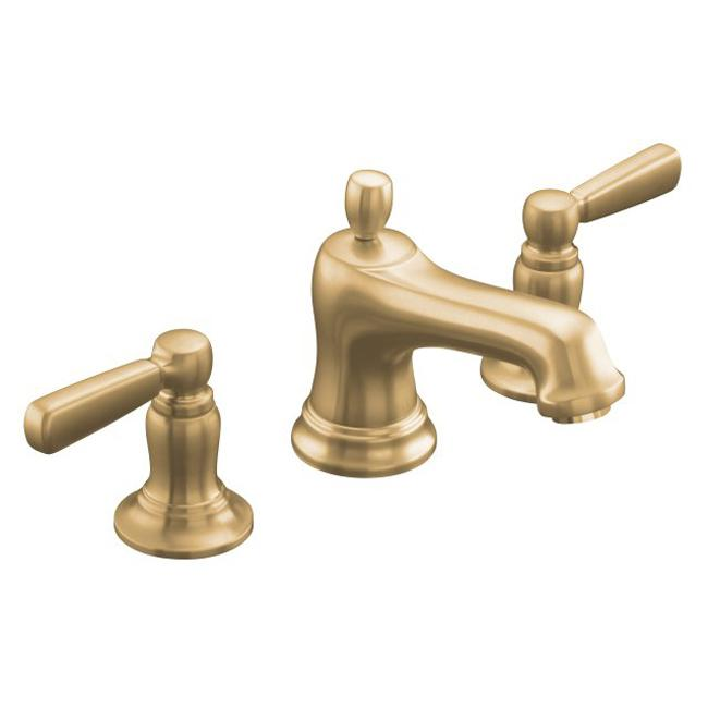 10577-4-BV Vibrant Brushed Bronze Bancroft Widespread Lavatory Faucet ...