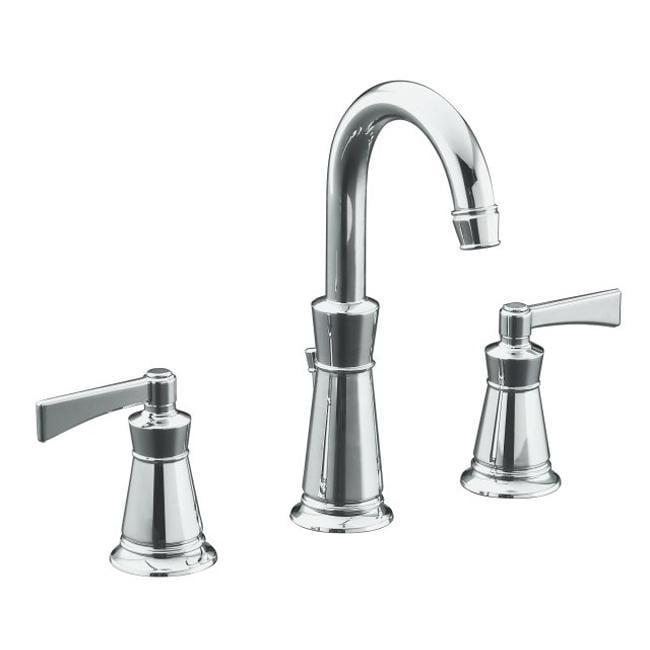 Shop Kohler K 11076 4 Cp Polished Chrome Archer Lavatory Faucet With