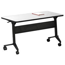 Mayline Flip-N-Go 72-inch Training Table