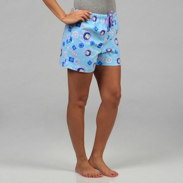 Leisureland Women's Space Monkey Boxer Shorts