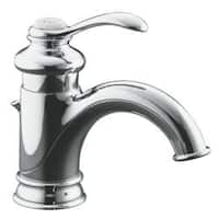 Kohler K-12182-CP Polished Chrome Fairfax Single-Control Lavatory Faucet With Lever Handle