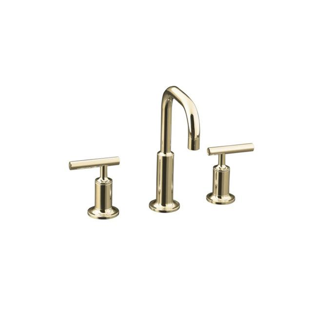 Shop Kohler K 14406 4 Sn Vibrant Polished Nickel Purist Widespread