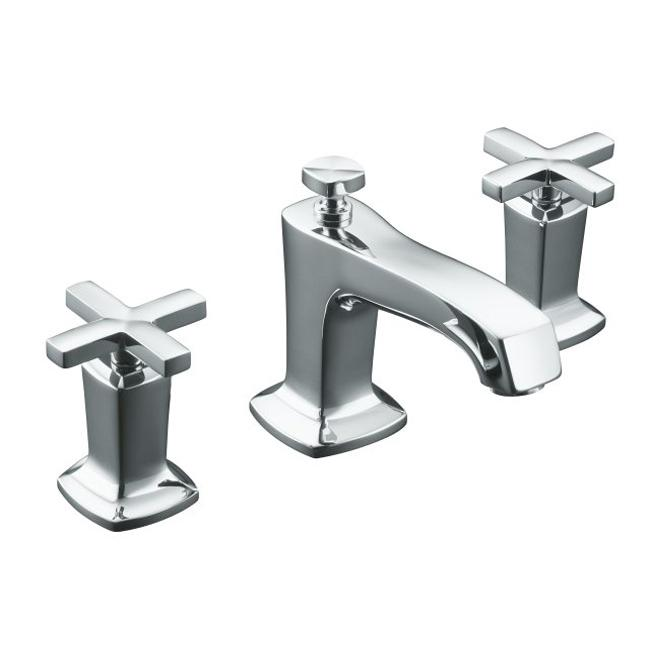 Shop Kohler Margaux Two Cross Handles Widespread Bathroom Sink