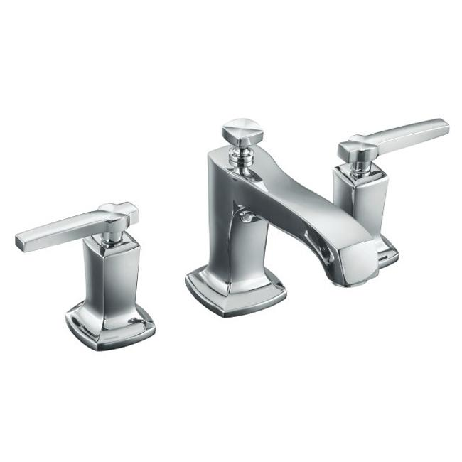 Shop Kohler K 16232 4 Cp Polished Chrome Margaux Widespread Lavatory