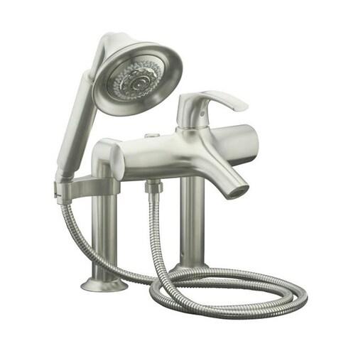 Kohler Symbol Diverter Spout Deck-mount Bath Faucet and Handshower