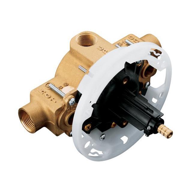 Kohler K-2971-KS-NA High Flow Rite-Temp Pressure Balancing Valve With Stops