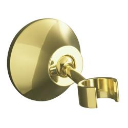 Kohler K-352-PB Vibrant Polished Brass Forte Adjustable Wall-Mount Bracket