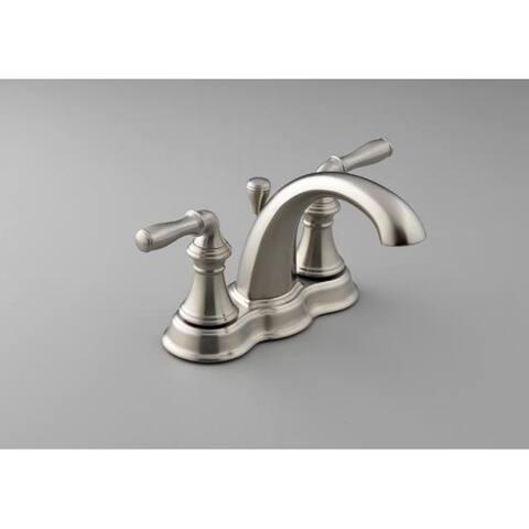 Kohler K-393-N4-BN Vibrant Brushed Nickel Devonshire Centerset Lavatory Faucet