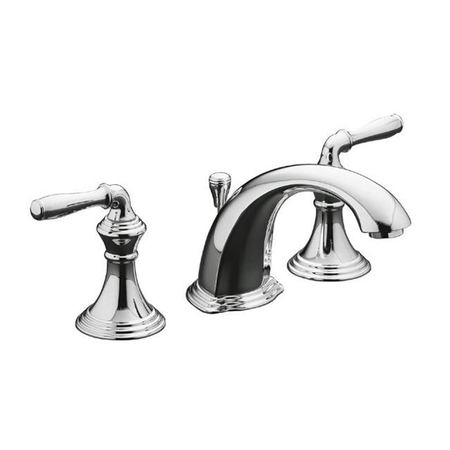 Kohler K 394 4 Cp Polished Chrome Devonshire Widespread Lavatory Faucet Free Shipping Today