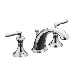 Kohler K-394-4-CP Polished Chrome Devonshire Widespread Lavatory Faucet